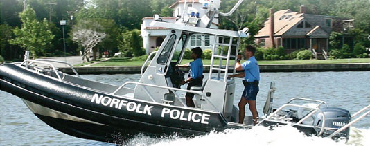 City of Norfolk Police Harbor Patrol