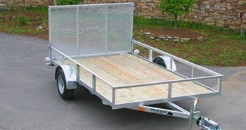 Road King Trailers ramp